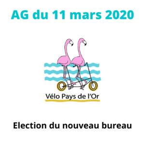 Assemblée Générale  – élection du bureau 2020