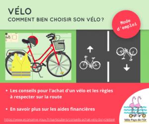 conseils achat vélo
