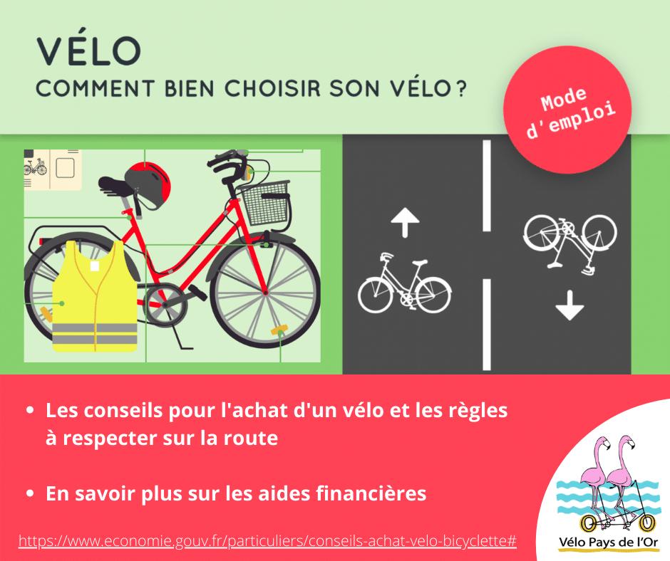 Conseils avant l'achat d'un vélo